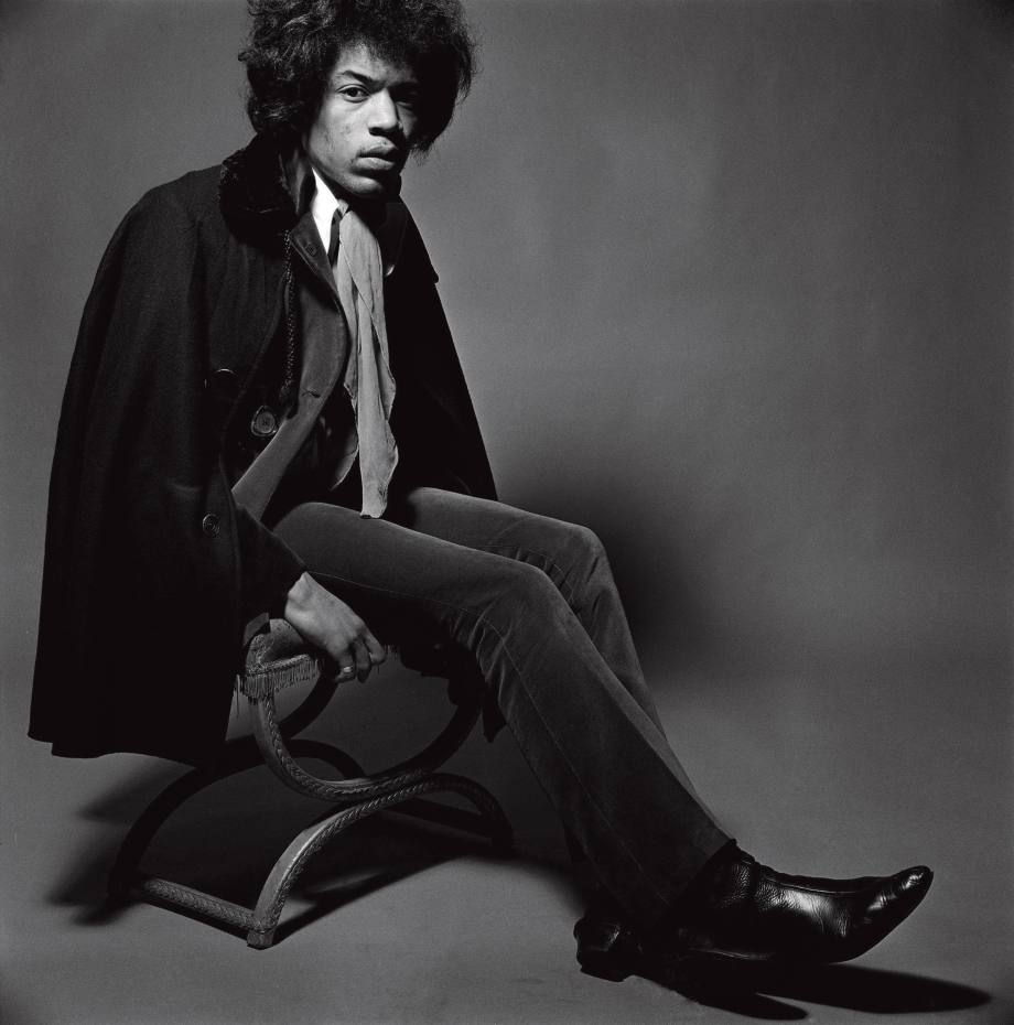 Jimi Hendrix in handmade boots by Anello & Davide, 1967