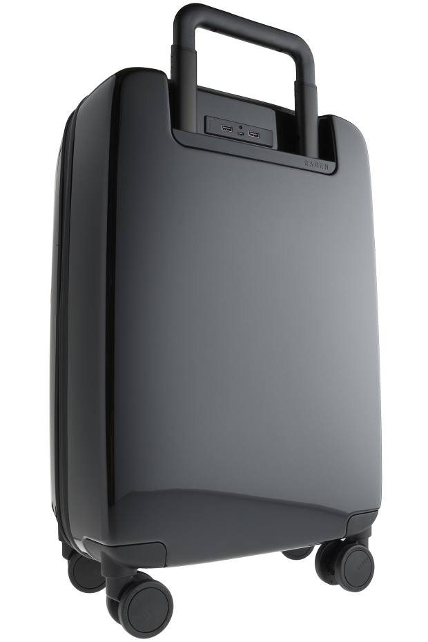Raden's wheeled A22, from£250, has an inbuilt rechargeable battery to help power your portable devices on the go