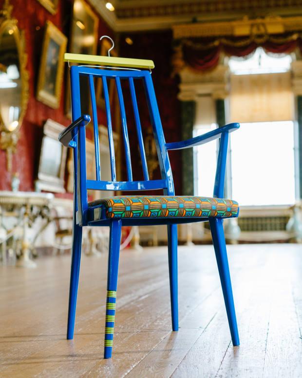 Yinka Ilori's vibrant upcycled furniture references his Nigerian heritage