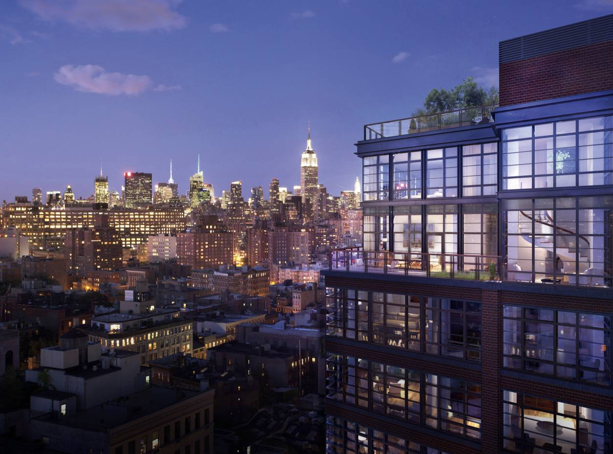 A rendering of the now sold-out 150 Charles Street, whose 91 residences