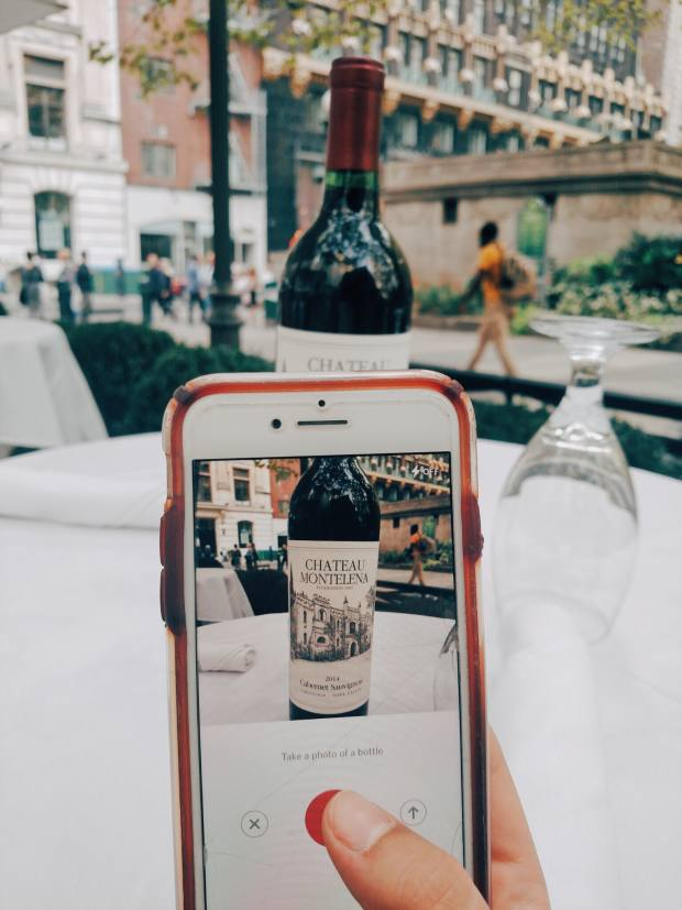 The Vinous app can scan wine labels and provide reviews, ratings and tasting notes