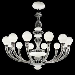 Barovier & Toso glass Pigalle chandelier, €14,820