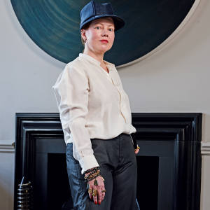 Julia Muggenburg at home in south-west London