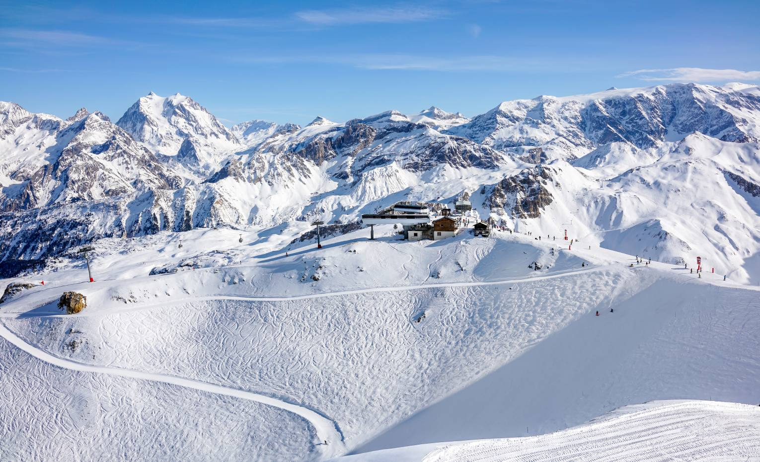 Courchevel in the French Alps is one of the destinations where Scott Dunn is offering the Flying Chefs experience