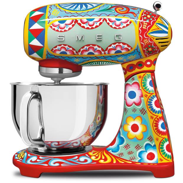 Smeg x Dolce & Gabbana stand mixer, £995.99