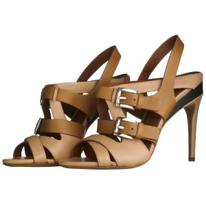 Trussardi sandals, £495. Also in grey/dark brown
