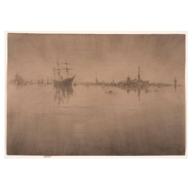 Nocturne, 1879/1880, Etching and drypoint, 202 x 294 mm