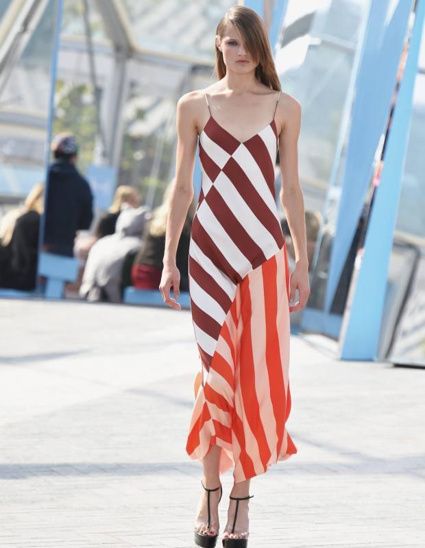 Jonathan Saunders khadi slip dress, £1,290