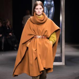 Alberta Ferrettiwool-felt cape, £1,090
