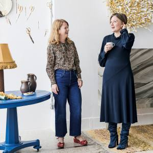 Catherine Lock and Natalie Melton, two of the founders of The New Craftsmen