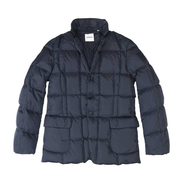 An Aspesi down jacket, £273.