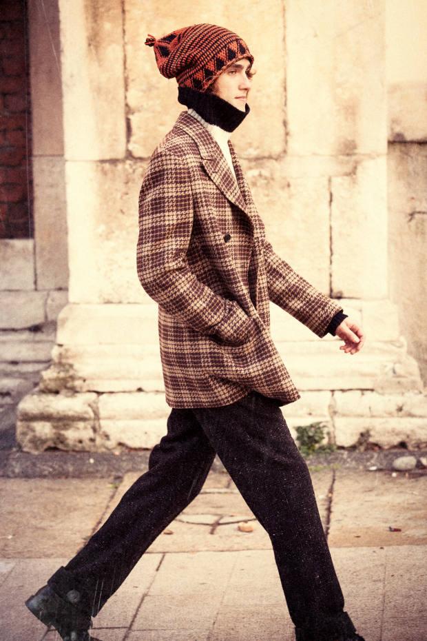 MP Massimo Piombo wool coat,£980