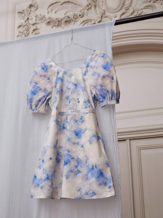 Danish fashion house Baum und Pferdgarten is marking Earth Day with Und Breathe, an eight-piece, organic-cotton capsule