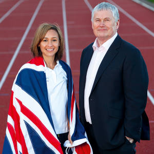 The Barrie Wells Trust helped to fund the early career of heptathlete Jessica Ennis-Hill