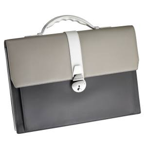 Smythson x Jonathan Saunders briefcase in leather, £1,250. Also in other colours