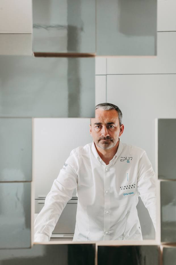 Michelin-starred chef Vincent Farges