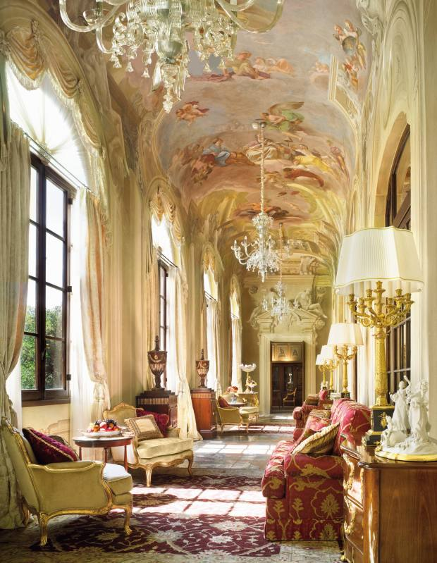 Royal Suite, Four Seasons Hotel, Florence