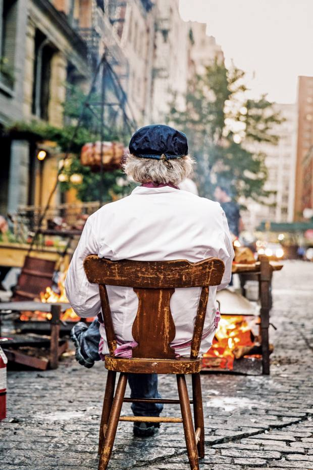 Argentinian chef Francis Mallmann is famous for cooking over fire