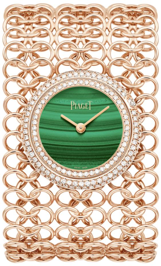 Piaget's limited edition rose-gold cuff watch, from £41,700