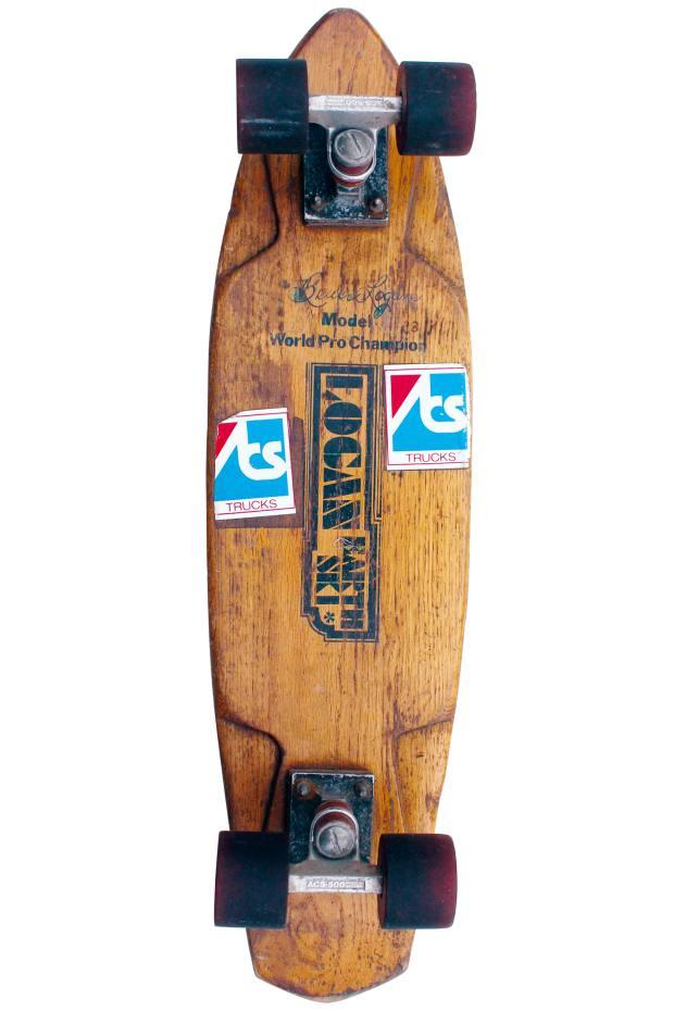 "1977 Logan Earth Ski Bruce Logan ""WorldPro Champion"", £100 to £200, from Darren Rathbone"