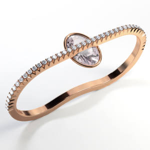 Enchantress ring, £2,400; for each ring sold £100 goes to Bloody Good Period (bloodygoodperiod.com)