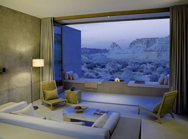An Amangiri suite