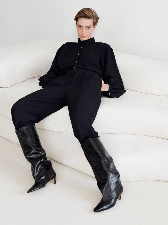Totême's Wide Shaft boots, from €760
