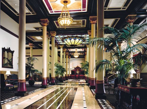 The Driskill in Austin – one of Texas's oldest hotels – is part of Hyatt's Unbound Collection