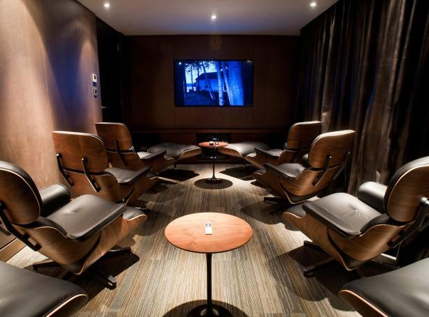 Aqua Mekong's private cinema