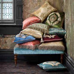 Beaumont & Fletcher hand-embroidered cushions, from £1,745 each