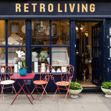 Retro Living, in London's Marylebone