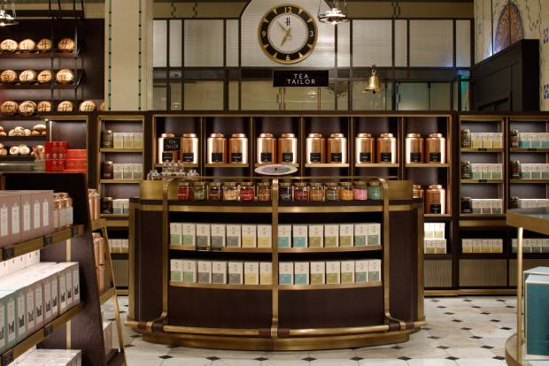 In Harrods' Roastery and Bake Hall, Angelo Tantillo creates teas to match customers' palates