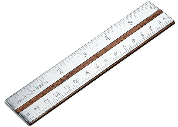 Tiffany & Co ruler, £485