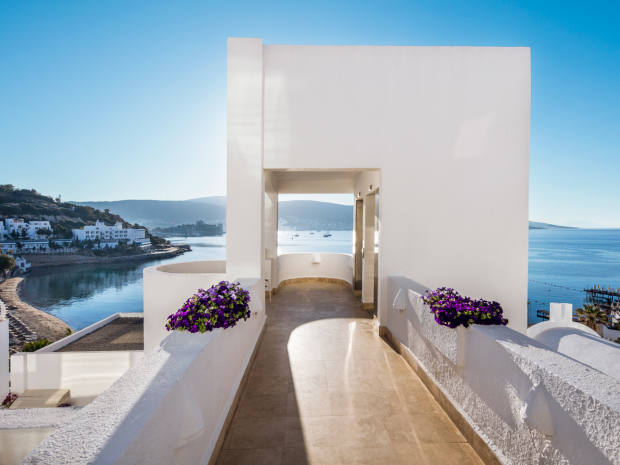 Voyage Bodrum is situated on Hebil Bay, one of the most beautiful bays of Bodrum
