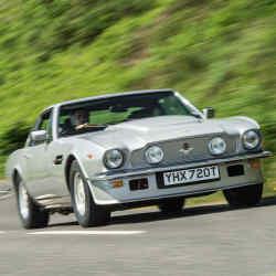 The Aston Martin V8 Vantage