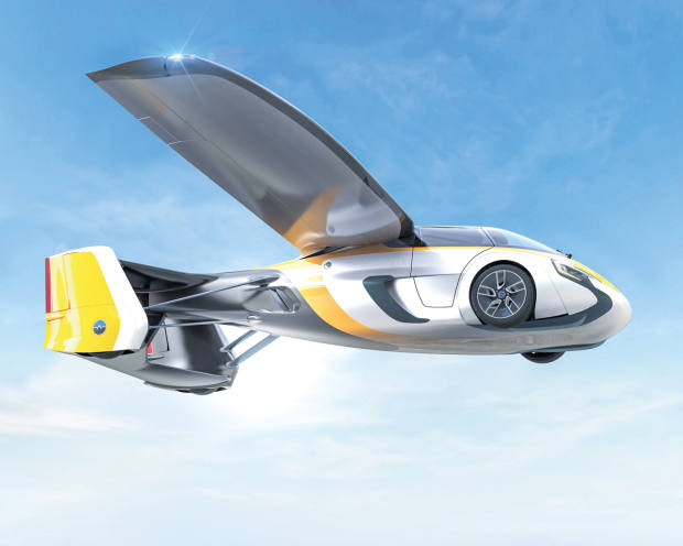 AeroMobil's 4.0 flying car, priced in excess of €1.2m, has wings that fold away for driving