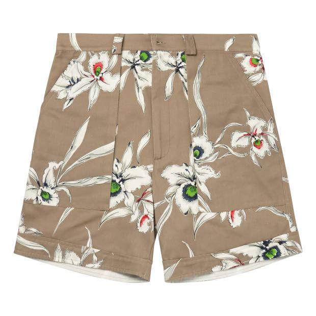 Valentino cotton shorts, £495