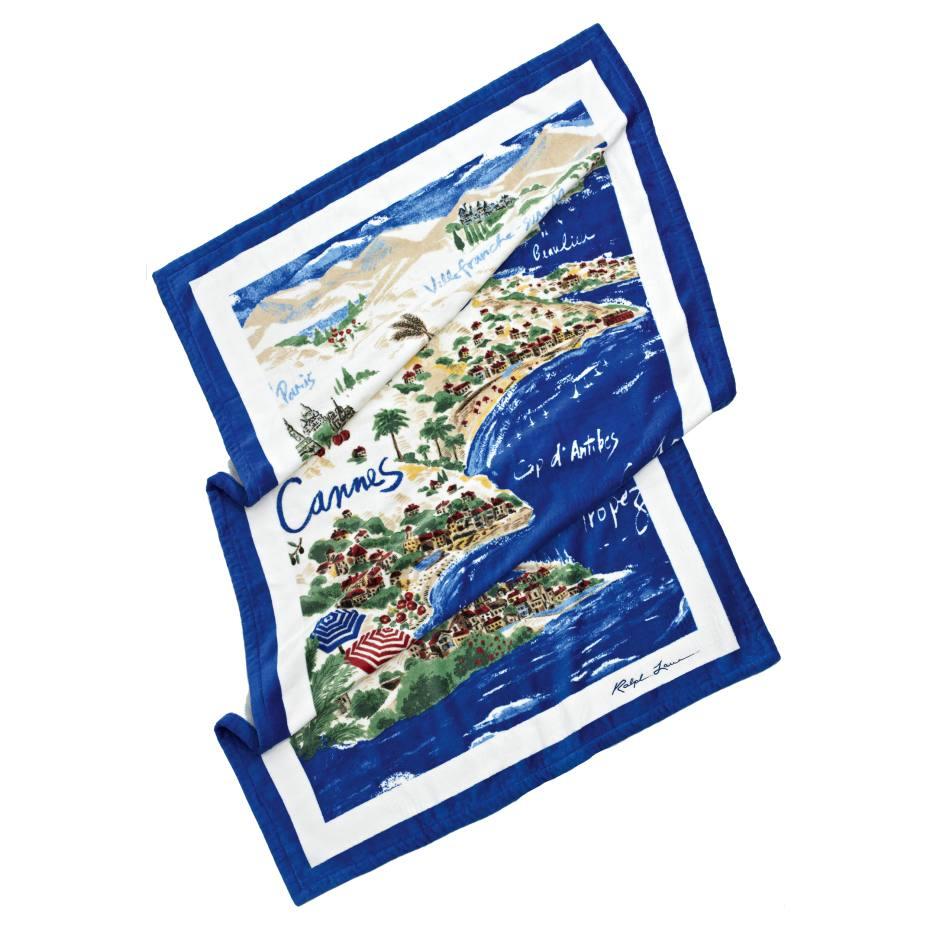 Ralph Lauren Mens Beach Towel: Ralph Lauren Riviera Beach Towel
