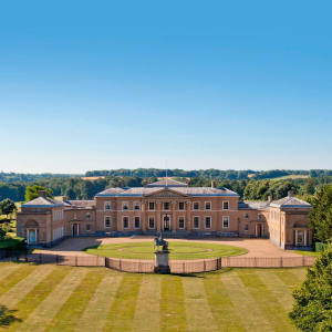 Hampshire's Hackwood Park, which has 24 bedrooms and 20 bathrooms, is available through Sotheby's International Realty, price on request