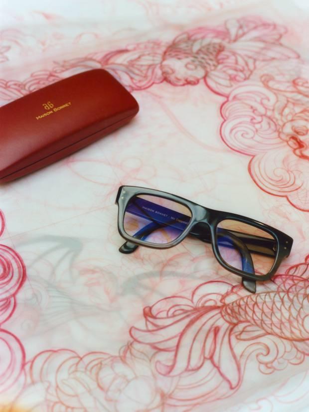 A pair of Maison Bonnet bespoke glasses