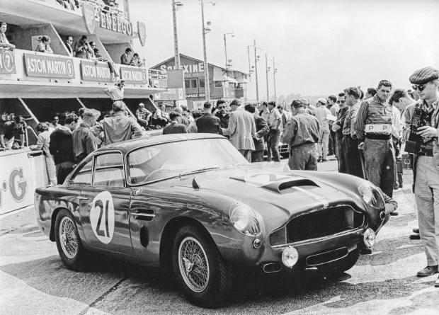 AnAston Martin DB4GT from1959