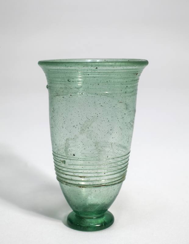 5th-6th century AD Anglo-Saxon glass beaker, £12,500 from Charles Ede