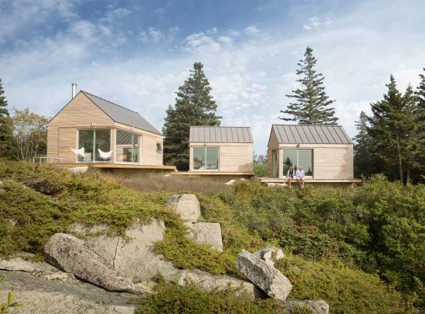 Nick and Nadja van Praag's home in Vinalhaven, Maine, by Go Logic's Riley Pratt