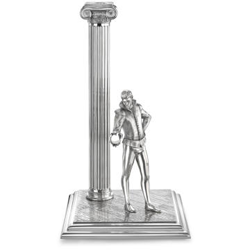 Theo Fennell has designed four limited-edition silver candlesticks depicting great Shakespearean characters