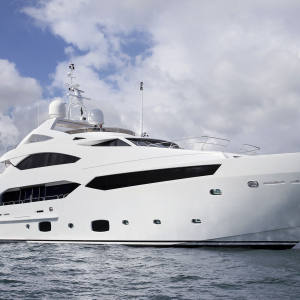The Sunseeker 40 Metre Yacht