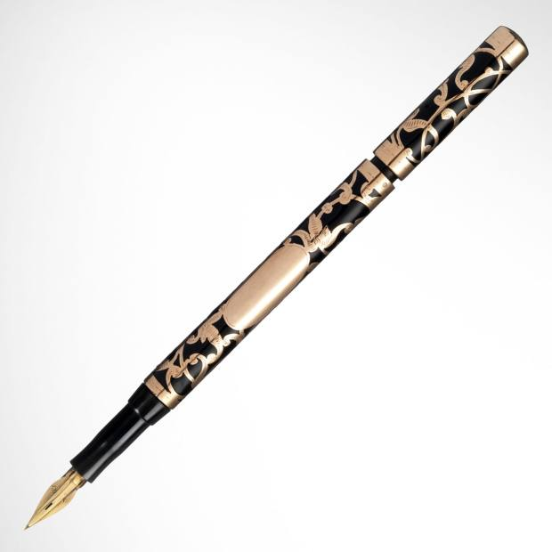 Waverley Cameron 1913 9ct rose gold overlay pen, £4,250 at Penfriend