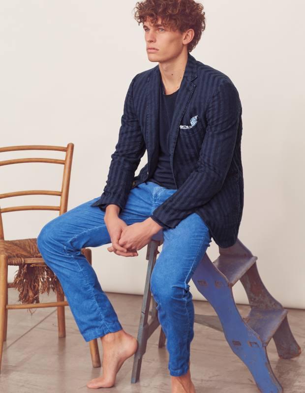 Massimo Alba linen/cotton BSA jacket, €845