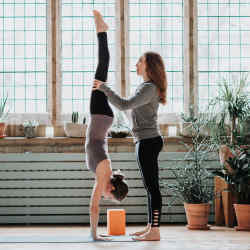 Yogi2Me users can receive a qualified instructor in the comfort of their own home,office or even a local park