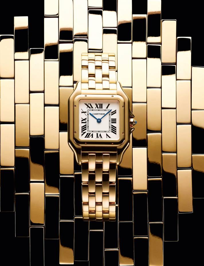Cartier gold Panthère de Cartier watch, £19,400