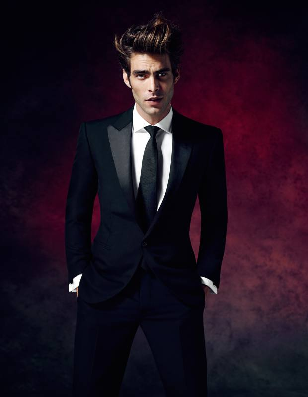 Ralph Lauren Black Label made-to-measure wool tuxedo, £1,625, cotton made-to-measure shirt, £245, silk tie, £115, and silver cufflinks, £240** To bid for this suit in aid of Save the Children, visit Christies.com/HTSI. Online auction ends December 11. **